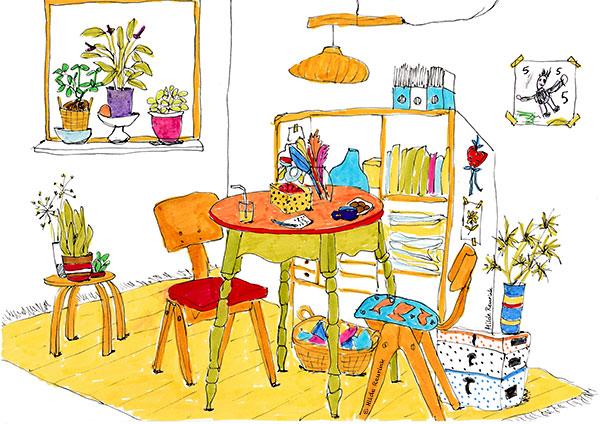 Illustrator Zwolle | Hilde Reurink